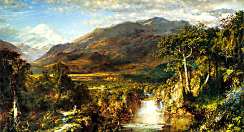 Edwin Church-Hart Of The Andes