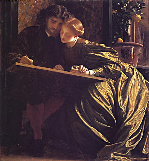 Frederic Lord Leighton-The Painters Honeymoon