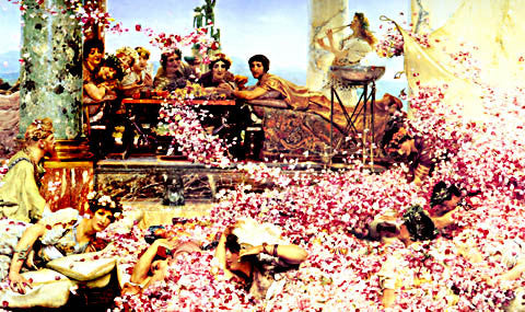 S. L. Alma-Tadema-The Roses Of Heliogabalus