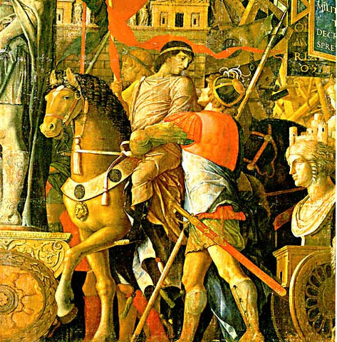 Andrea Mantegna-The Triumph Of Caesar #2