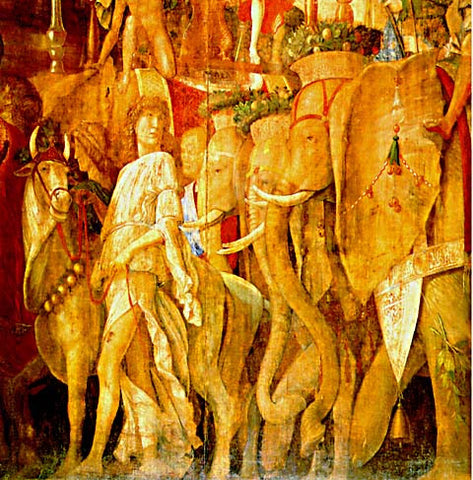 Andrea Mantegna-The Triumph Of Caesar #5