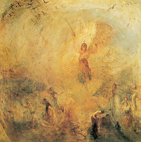 Joseph Mallord William Turner-The Angel Standing In The Sun 1846