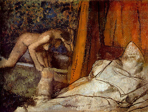 Edgar Degas-The Bath 1895