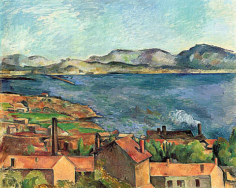 Paul Cezanne-The Bay Of Marseilles