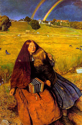 John Everett Millais-The Blind Girl