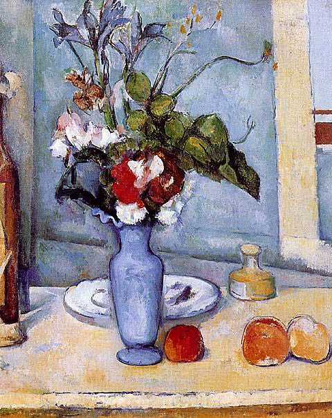 Paul Cezanne-The Blue Vase Cezanne