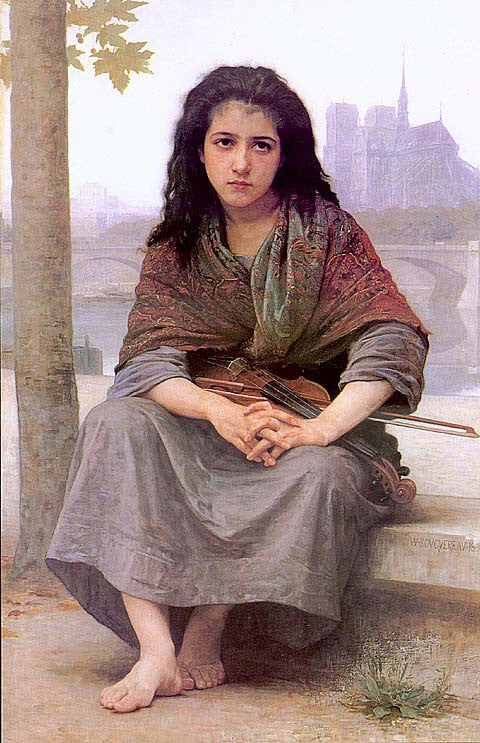 William Adolphe Bouguereau-The Bohemian