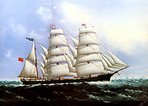 Lai Fong-The British Barque Lanca Shire