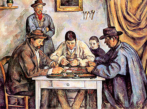 Paul Cezanne-The Card Players-1
