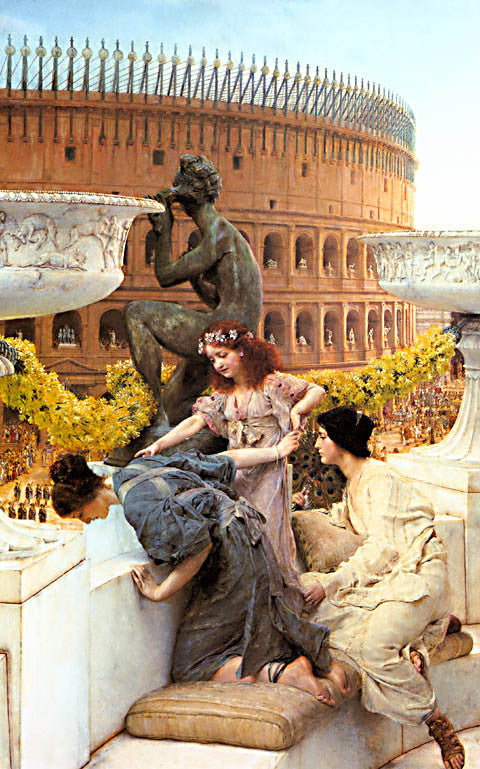 S. L. Alma-Tadema-The Coliseum 1896