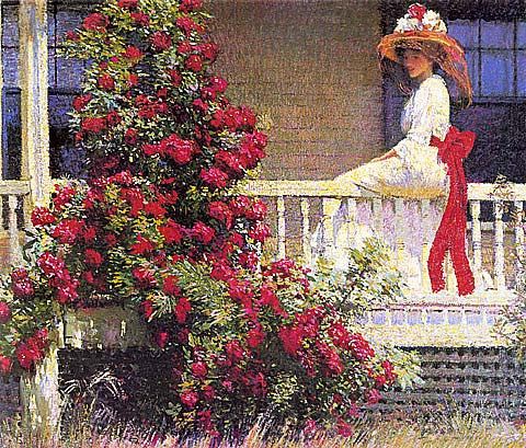 Philip Leslie Hale-The Crimson Rambler
