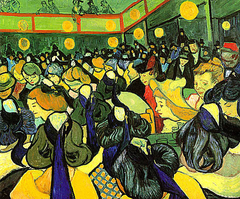 Vincent Van Gogh-The Dance Hall