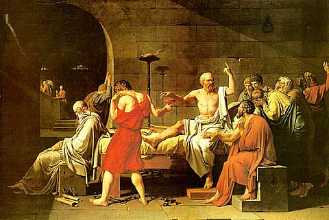 Louis David-The Death Of Socrates