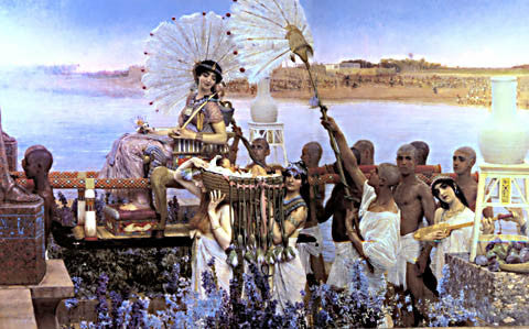 S. L. Alma-Tadema-The Finding Of Moses 1904