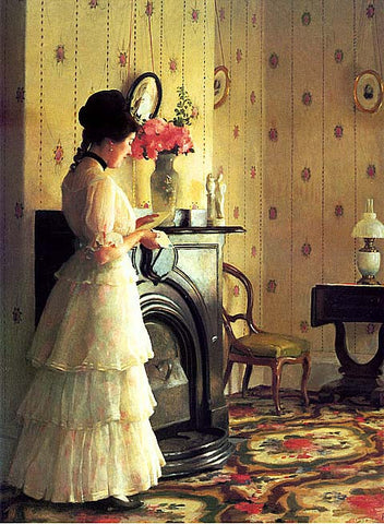 William Paxton-The Front Parlor