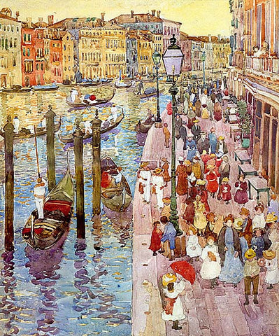 Maurice Prendergast-The Grand Canal