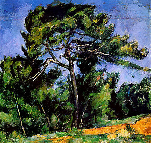 Paul Cezanne-The Great Pine