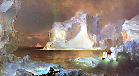 Frederic Church-The Icebergs 1861