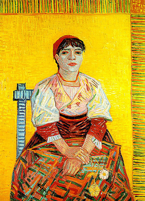 Vincent Van Gogh-The Italian Woman La Segatori