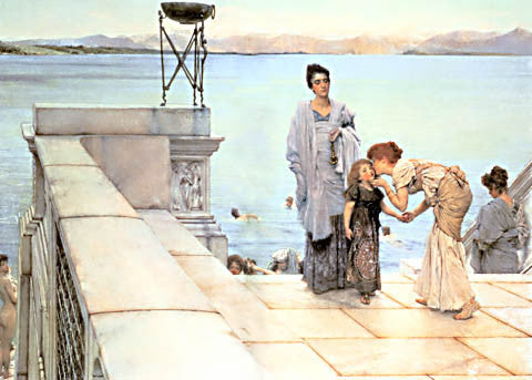 S. L. Alma-Tadema-The Kiss 1891