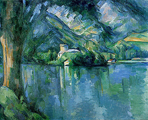 Paul Cezanne-The Lac DAnnecy