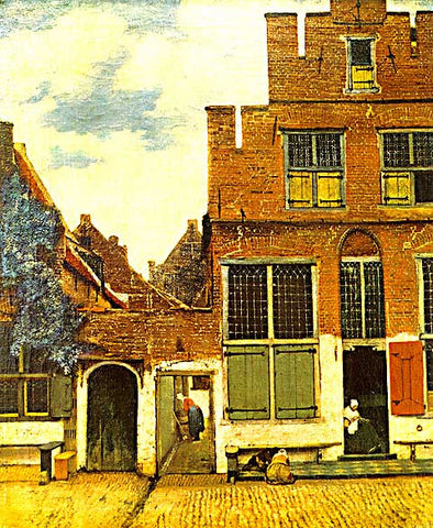 Jan Vermeer-The Little Street