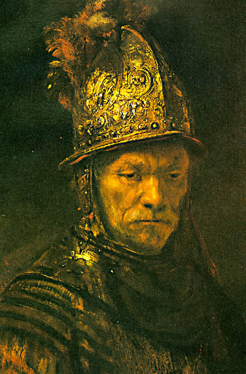 Rembrandt-The Man With The Golden Helmet