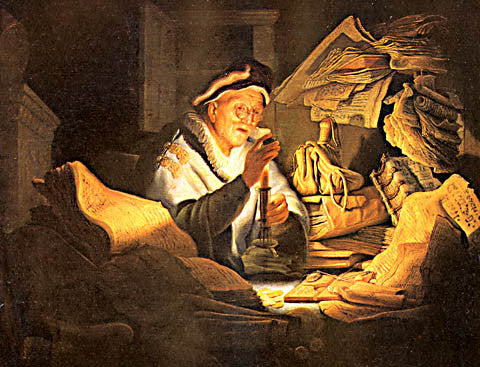 Rembrandt-The Money Changer