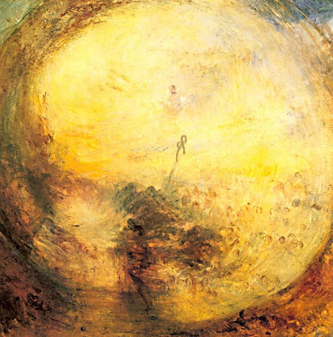 Joseph Mallord William Turner-The Mourning After The Deluge 1843