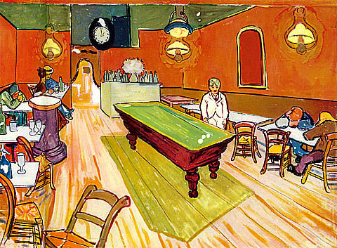 Vincent Van Gogh-The Night Cafe