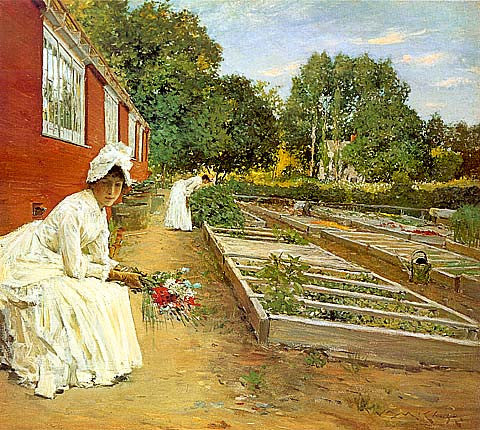 William Merritt Chase-The Nursery