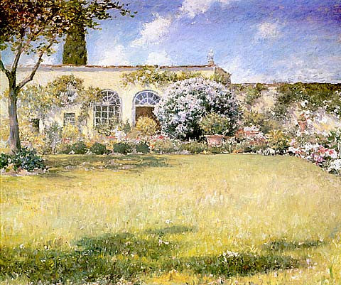 William Merritt Chase-The Orangerie