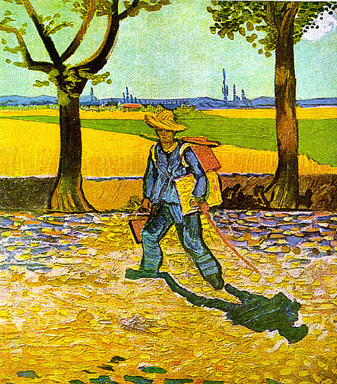Vincent Van Gogh-The Painter On The Road To Tarascon