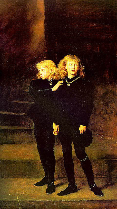 John Everett Millais-The Princes In The Tower
