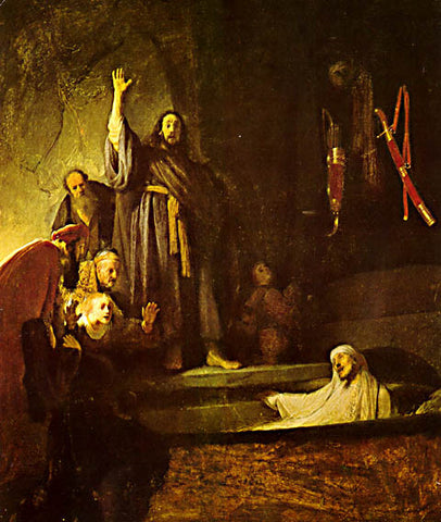 Rembrandt-The Raising Of Lazarus