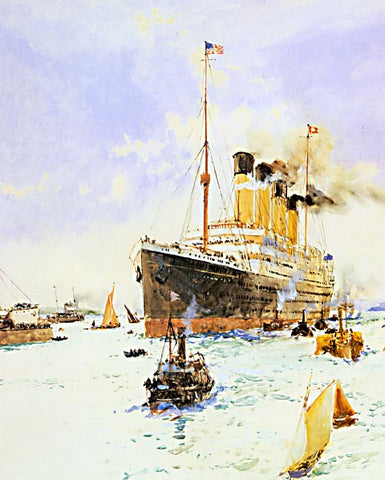 Charles Dixon-The RMS Olympic