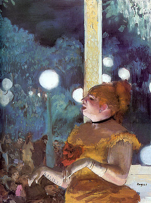Edgar Degas-The Song Of The Dog