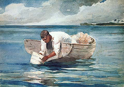 Winslow Homer-The Water Fan