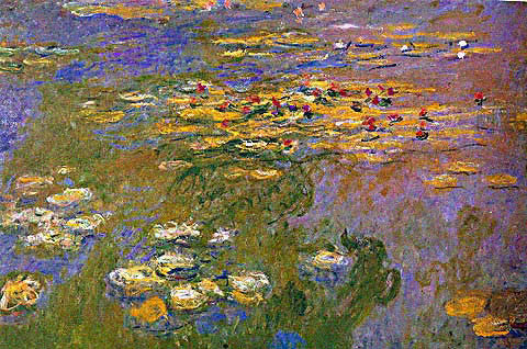 Claude Monet-The Water Lily Pond 3