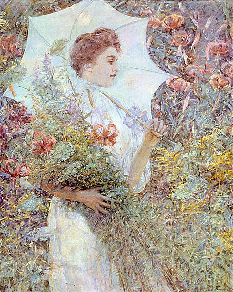 Robert Reid-The White Parasol