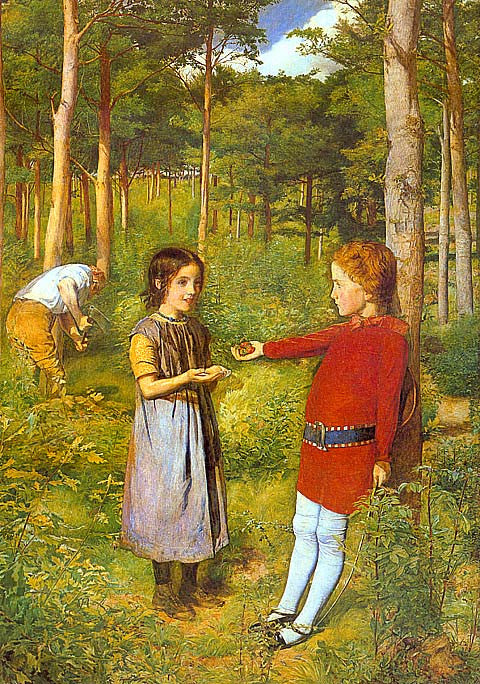 John Everett Millais-The Woodmans Daughter