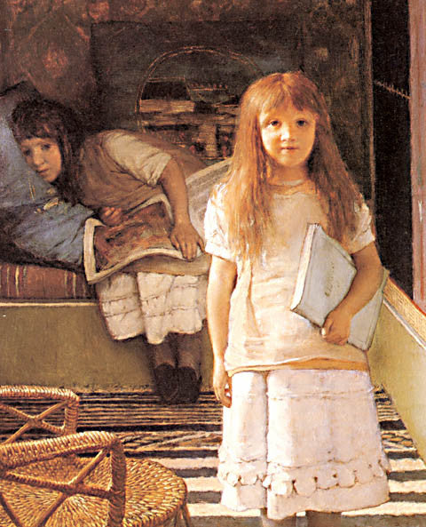 S. L. Alma-Tadema-This Is Our Corner