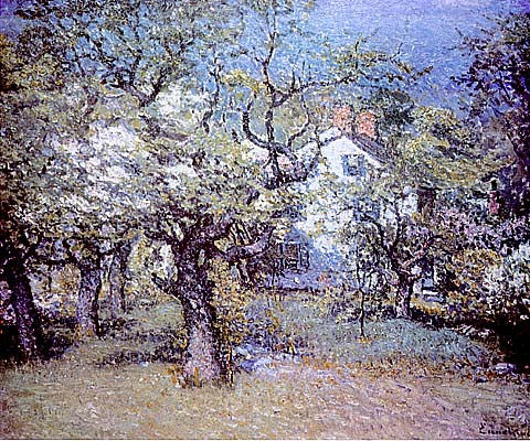 John J. Enneking-Through The Orchard