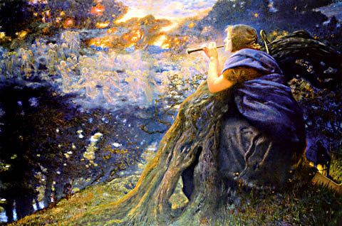 Edward Robert Hughes-Twilight Fantasies