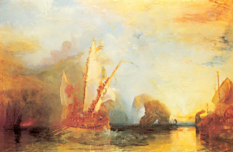 Joseph Mallord William Turner-Ulysses Deriding Polyphemus 1829