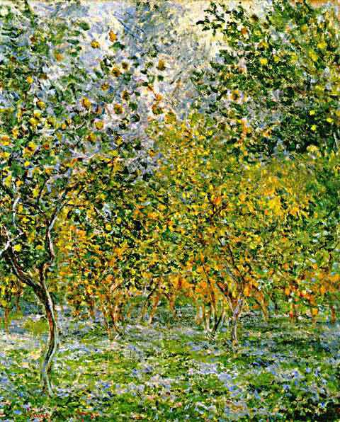 Claude Monet-Under the Lemon Trees
