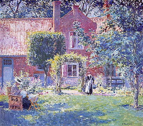 Gary Melchers-Unpretentious Garden