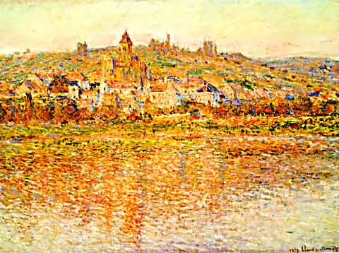 Claude Monet-Vetheuil in Summertime