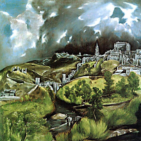 El Greco-View Of Toledo