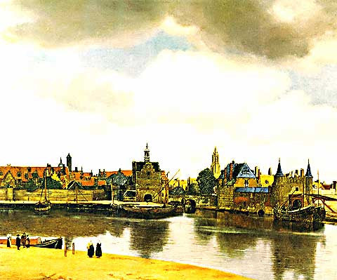 Jan Vermeer-View Of Delft